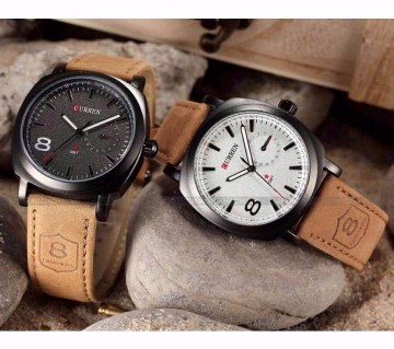 Curren Wristwatch Combo Of 2 Pieces