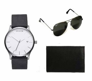 Ray-Ban (copy) sunglasses & MVMT (copy) watch & Wallet