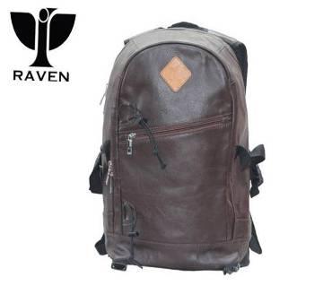 Genuine Leather Backpack RU:10
