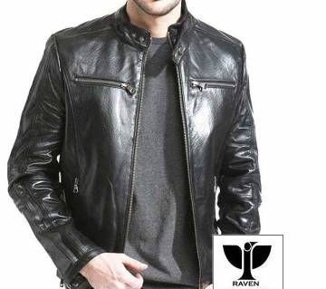 RS02 MENS GENUINE LEATHER CLASSIC RACING JACKET
