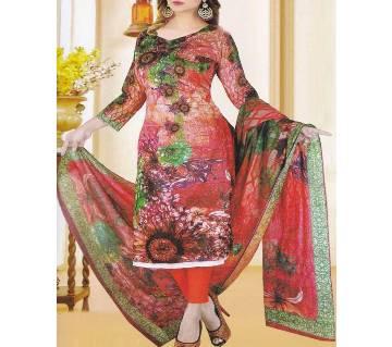 Unstitched Lawn salwar Kameez For women