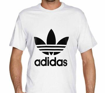 Mens Half Sleeve Cotton T-Shirt (Addidas)
