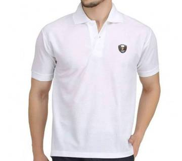 Half Sleeve Cotton  Polo Shirt