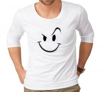 Full Sleeve Cotton T Shirt