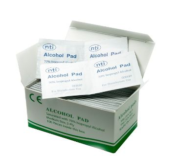 virus removal alcohol pad