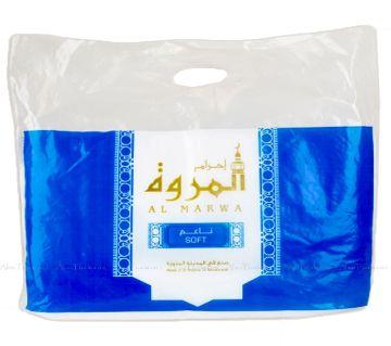 Full cotton comfortable soft ihram towel for hajj or umr