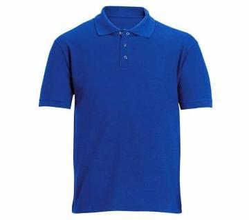 Royel blue polo shirt for man