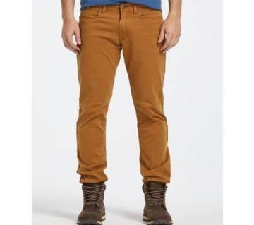 Brown color Gabardine Pant For Men