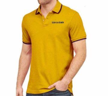 YelloW Polo Shirt For Men