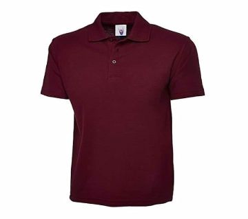 Maroon color polo T shirt