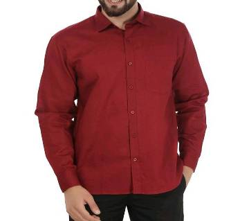 Red shirt formal for Man