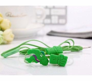 Hulk Designed Earphone