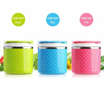 Single Layer Lunch Box- Random(one)