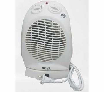 Nova Fan System Electric Room Heater (NH-1204A White)