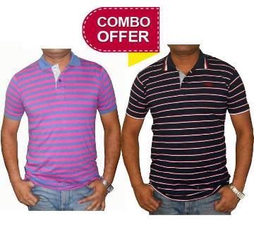 Gents Cotton Polo shirt Combo Offer
