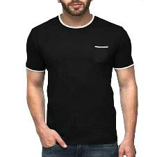 Gents Round Neck Cotton T-Shirt