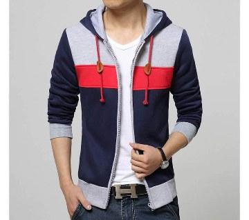 Gents Full Sleeve Multi-Color Hoodie