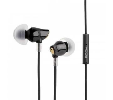 Rock zircon Wired Earphone