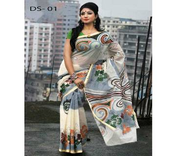 Dhanshiri tat cotton Saree .V