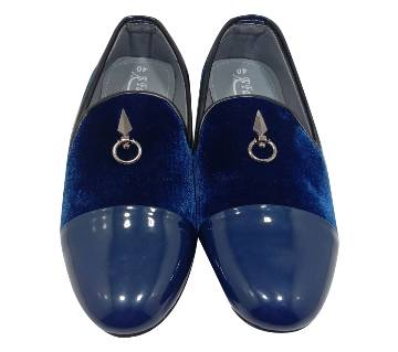 Velvet Gents Loafer-Nevi Blue