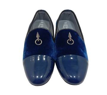 Velvet Gents Loafer-Nevi Blue