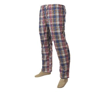 Mens extra relax soft cotton multi color pajama pants.