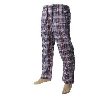 Mens extra relax soft cotton check pajama pants