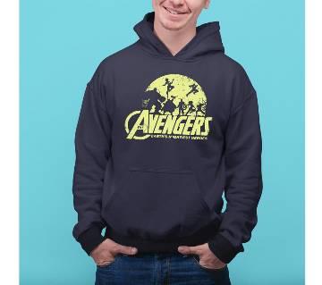 Avenger Mens Hoodie - Blue