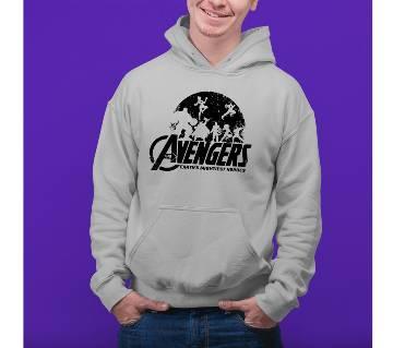 Avenger Mens Hoodie - Grey