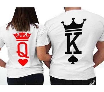King 1 Couple T-shirt - couple-22