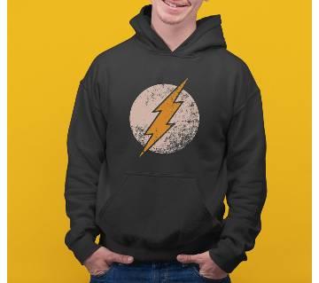 Flash Mens Hoodie - Black
