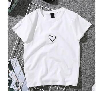 Love Mens T-shirt - white