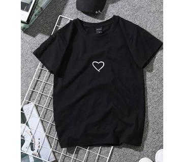 Love Womens T-shirt - black