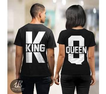 King 3 Couple T-shirt - couple-1