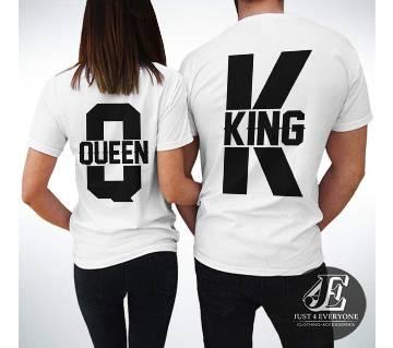 King 3 Couple T-shirt - couple-2