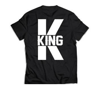 King 333 Mens T-shirt - black