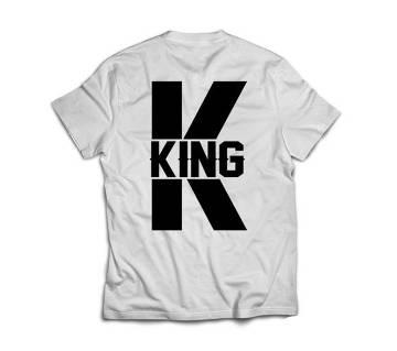 King 333 Mens T-shirt - white