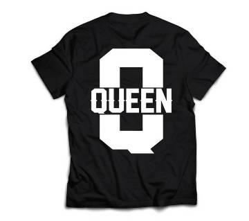 Queen 333 Womens T-shirt - black