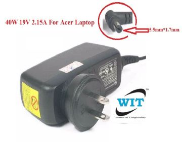 40W 19V 2.15A 5.5mm*1.7mm IU40-11190-011S AC Adapter/Charger For Acer 521 533 532H NAV50 ( Acer 40W Adapter )