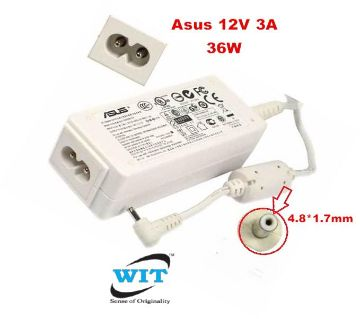 Asus 12V 3A 36W 4.8*1.7mm Power Adapter for Asus Eee PC 900 Eee PC900 900HA 900HD 904HA 904HG 1000HT 1000HV 1000HD (Asus 36W Adapter)(Asus 12V 3A
