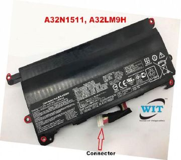 Asus ROG A32N1511 0B110-00370000 A32LM9H G Series G752v, G752VL, G752VT, G752VM G752VT G752VY laptop original internal battery