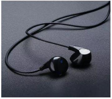 UiiSii  U1 In-ear Wired Heavy Bass Earphones - Black