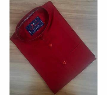 Full Sleeve Casual Shirt For Mens- Red