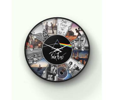 Pink Floyd Albums Collection Wall Clock 14 inch - WCK-B-1001