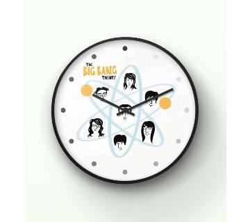 The Big Bang Theory orbit Wall Clock 14 Inch WCK-TS-3066