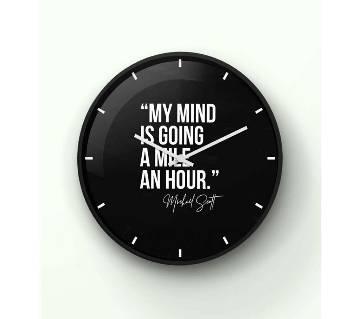 The Office black Wall Clock 14 Inch WCK-TS-3090
