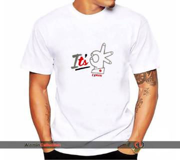 Itsok printed t shirt for men