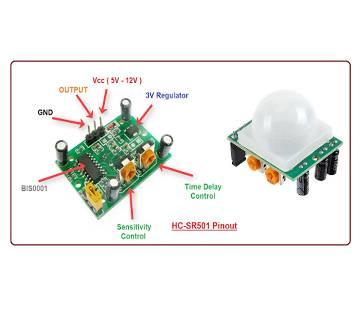 HC-SR501 Motion Sensor Detector Module