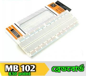 MB-102 Solderless Breadboard 830 Point PCB Bread Board