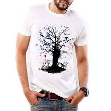 Menz Cotton T-shirt (Tree color)